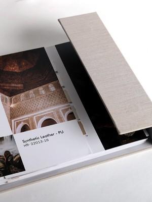 如何去开展皮革色卡包装设计的设计会比较好